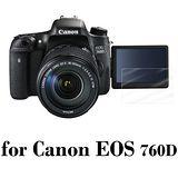 D&A Canon EOS 760D 相機專用日本原膜HC螢幕保護貼(鏡面抗刮)