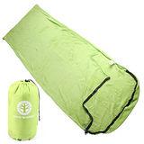 TreeWalker 珊瑚絨睡袋-草綠