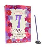 【任選】Nippon Kodo 日本香堂 ROOMY 7 系列線香24支(紫羅蘭)