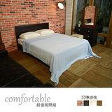 HAPPYHOME 維隆床片型3件房間組-床片+床底+鏡台1WG5-24W+ZU5-7TCR二色可選-不含床墊-床頭櫃