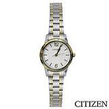 CITIZEN星辰 典雅女仕休閒石英腕錶 EJ6084-56A