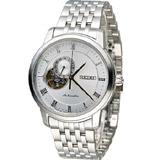 SEIKO Presage 羅馬假期開心機械錶 4R39-00M0S SSA267J1 銀白