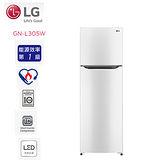 促銷★LG 樂金 253公升/典雅白 SMART 變頻上下門冰箱 節能省電一級效能新機種 (GN-L305W) 含基本安裝