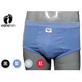 HANG TEN 彩色100%棉羅紋三角褲(M~XL)