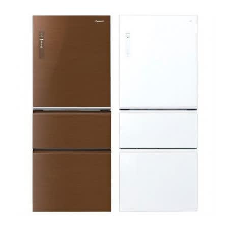 PANASONIC NR-C508NHG/W 500公升 三門冰箱 -friDay購物 x GoHappy