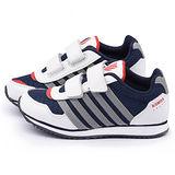 K-swiss 大童 輕量避震運動鞋53543-132-藍白