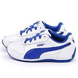 PUMA 大童 輕量透氣運動鞋354596-18-白藍