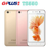 GPLUS TS550 四核心5.5吋4G LTE 智慧雙卡機※贈側掀皮套+內附保貼※