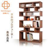 Sato-CECI橄欖樹隔間收納櫃‧幅90cm(淺棕色)