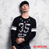 BOBSON 數字印圖上衣(合身版)(35010-88)
