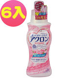 LION 日本獅王 冷洗精-百花香 500ml (6入)