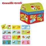 【美國Crocodile Creek】趣味配對拼圖系列-動物回家去
