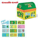 【美國Crocodile Creek】趣味配對拼圖系列-寶寶學數數