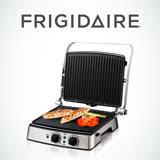 美國富及第Frigidaire 上下雙控溫多功能烤盤(烤肉/炒菜/煎蛋/鬆餅/帕里尼) FKG-2121BD (贈咖啡機)
