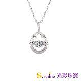 【光彩珠寶】日本舞動鑽石項鍊 戀曲