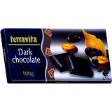 波蘭Terrivata黑巧克力片100g