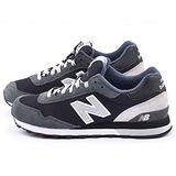 New Balance 男款 麂皮復古運動鞋ML515CCF-黑灰