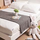 OLIVIA 標準單人 專利款防水透氣型床包式保潔墊