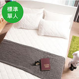 OLIVIA 標準單人尺寸 天絲TENCEL舒柔棉床包式保潔墊
