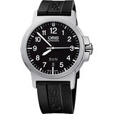 Oris BC3 Advanced 日曆星期飛行錶-黑/42mm 0173576414164-0742205