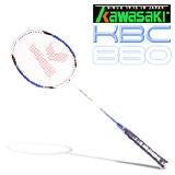 Kawasaki KBC880 碳纖維羽球拍(藍)