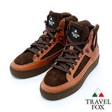 男Travel Fox 霍金斯動能休閒鞋915614(棕-308)