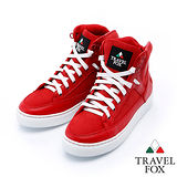 女Travel Fox 蒂雅精靈高筒鞋915814(紅-304)