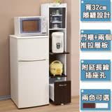 《C&B》加高型廚房隙縫電器櫃