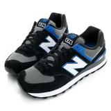 New Balance(男)574經典復古鞋-黑-ML574AAB