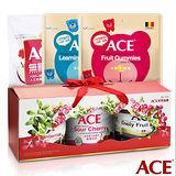 【ACE】 天然健康 堅果果乾禮盒組 + 大包裝軟糖240g(3種口味各1包)