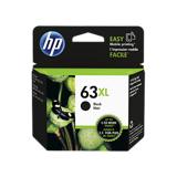 HP HP F6U64AA NO.63XL 原廠黑色高容量墨水匣