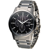 星辰 CITIZEN 急速豪傑光動能計時腕錶 CA0615-59E