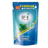 花王植萃弱酸洗髮精涼感控油補充包550ml