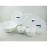 【法國Luminarc樂美雅】純白11件式餐盤組ARC-1101