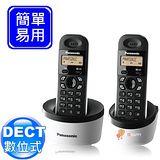 Panasonic DECT數位式無線電話 KX-TG1312 (棉花白)