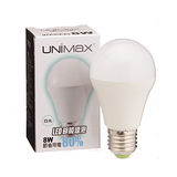 UNIMAX LED燈泡-白光(8W)