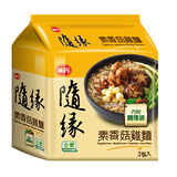 味丹隨緣素香菇雞麵174g*3