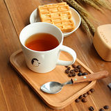 【Homely Zakka】木趣食光木質方型小托盤/餐盤 (小長方20*13)