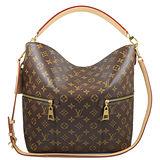 Louis Vuitton LV M41544 Mélie 經典花紋單柄兩用仕女包 預購