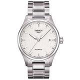 TISSOT T-TEMPO 低調時尚100米機械錶(白) T0604071103100