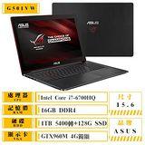 ASUS 華碩 G501VW-0042B6700HQ 15.6吋FHD i7-6700HQ GTX960 4G獨顯 輕薄電競筆電 送高解析電競滑鼠+螢幕貼+鍵盤膜+清潔好禮包