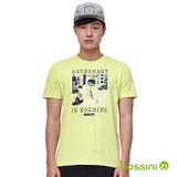 bossini男裝-印花短袖T恤06亮黃