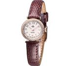 玫瑰錶 Rosemont 茶香玫瑰系列超薄時尚錶 TRS010-05RG-LE-BR