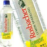 德國Rosbacher雷巴哈檸檬風味氣泡礦泉水500mlX18(無糖)