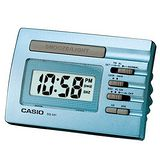 CASIO卡西歐 數字型電子鬧鐘 -藍色 DQ-541D-2