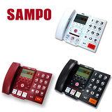 ▼【聲寶SAMPO】大字鍵來電顯示有線電話(HT-B1201L)隨機