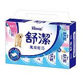 舒潔萬用輕巧包衛生紙120抽(10包x10串)/箱