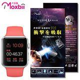 Moxbii Apple Watch 42mm 太空盾 9H 抗衝擊 螢幕保護貼