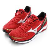 MIZUNO 美津濃 男鞋 慢 跑鞋-紅-J1GA167701