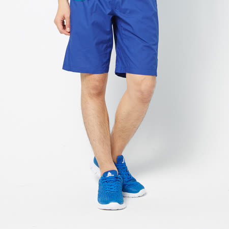 FIVE UP(男)-輕鬆自在五分褲-寶藍 -friDay購物 x GoHappy